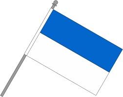 Schwenkfahne blau-weiss ab 4,99 EUR