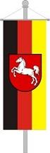 Bundesland Banner mit Wappen ab 49,50 EUR