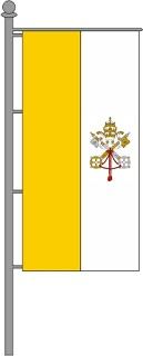 Vatikanische Kirchenfahnen Hochformat für Ausleger ab 49,50 EUR