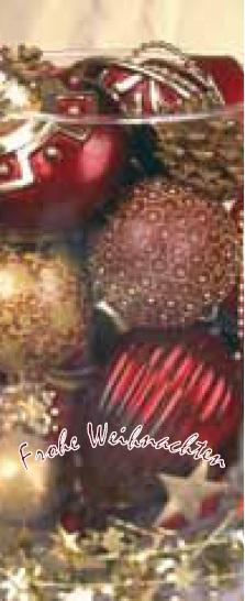 Weihnachtsfahne Hochformat Premium Motiv 9