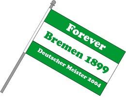 Fan Schwenkfahne Bremen