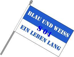 Fan Schwenkfahne Schalke