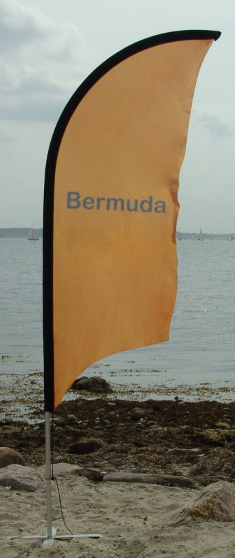 Beachflag Bermuda