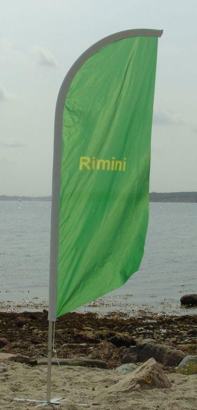 Beachflag Rimini
