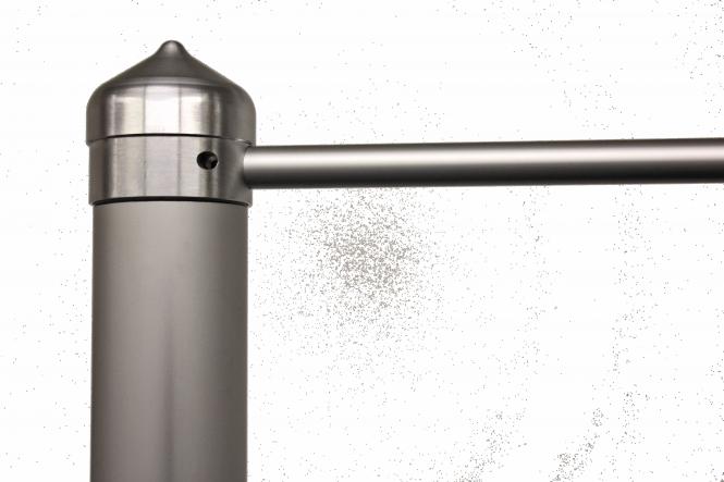 Masten mit Drehkopfausleger nicht hissbar Ø 90 mm