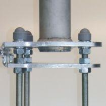 Masten mit Drehkopfausleger hissbar Ø 75 mm