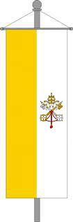 Vatikanisches Kirchenbanner 80x200cm