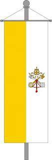 Vatikanisches Kirchenbanner 150x400cm