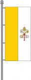 Vatikanische Kirchenfahne Hochformat 120x300cm