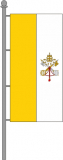 Vatikanische Kirchenfahne Hochformat 150x600cm