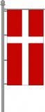 Ökumenische Kirchenfahne Hochformat für Ausleger 120x300cm