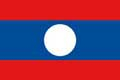 Nationalfahne Import Laos