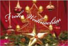 Weihnachtsfahne Querformat Premium Motiv 14