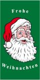 Weihnachtsfahne Hochformat Premium Motiv 1