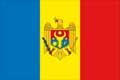 Nationalfahne Import Moldavien