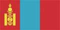 Nationalfahne Import Mongolei