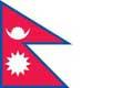 Nationalfahne Import Nepal