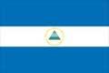 Nationalfahne Import Nicaragua