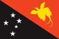 Nationalfahne Import Papua Neuguinea