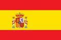 Nationalfahne Import Spanien