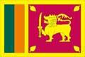 Nationalfahne Import Sri Lanka