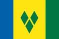 Nationalfahne Import St Vincent
