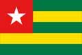 Nationalfahne Import Togo