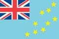 Nationalfahne Import Tuvalu