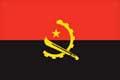 Nationalfahne Import Angola