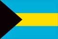 Nationalfahne Import Bahamas