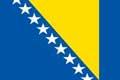 Nationalfahne Import Bosnien