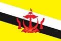 Nationalfahne Import Brunei