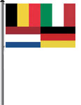 Nationalfahne ohne Motiv Querformat 120x80cm