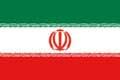 Nationalfahne Import Iran