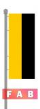 Bundesland Hochformat für Ausleger ohne Wappen Sachsen-Anhalt
