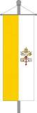 Vatikanisches Kirchenbanner 150x600cm