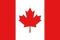 Nationalfahne Import Kanada