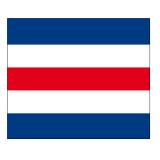 Signalflagge Buchstabe C = Charlie