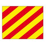 Signalflagge Buchstabe Y = Yankee